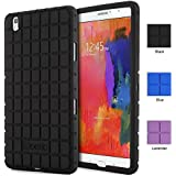 Samsung Galaxy Tab Pro 8.4 Case - Poetic Samsung Galaxy Tab Pro 8.4 Case [GraphGRIP Series] - [Lightweight] [GRIP] Protective Silicone Case for Samsung Galaxy Tab Pro 8.4 Black (3 Year Manufacturer Warranty From Poetic)