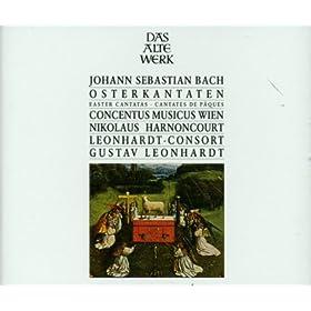 Bach : Easter Cantatas - plus Gustav Leonhardt