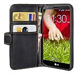 Pedea Wallet Flip Case for LG G2 - Black