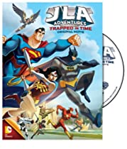 JLA Adventures: Trapped in Time DVD