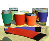 Koolkup® - Insulated Coffee or Cold Drink Neoprene Wrap - Reusable- Eco-friendly- No More Wasted Paper Coffee Sleeves.