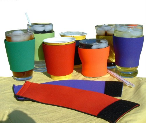 Koolkup® - Insulated Coffee or Cold Drink Neoprene Wrap - Reusable