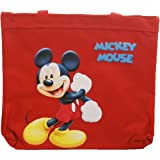 Disney Mickey Mouse Red Tote Bag and Sticker Sheet