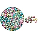 Oasis Supply Dragees Multi Mixed Color Sugar Cake Cupcake Cookie Sprinkles, 4mm
