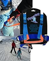 Ski Harness with Front and Back Grippers & Leash. Age 3+ Nippergrip