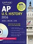 Kaplan AP U.S. History 2016: Book + O...