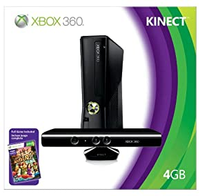 Xbox 360 4GB Console with Kinect from Microsoft