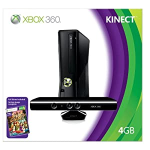 Xbox 360 4GB Console with Kinect - Newest Version - Only $299.99 + FREE Shipping