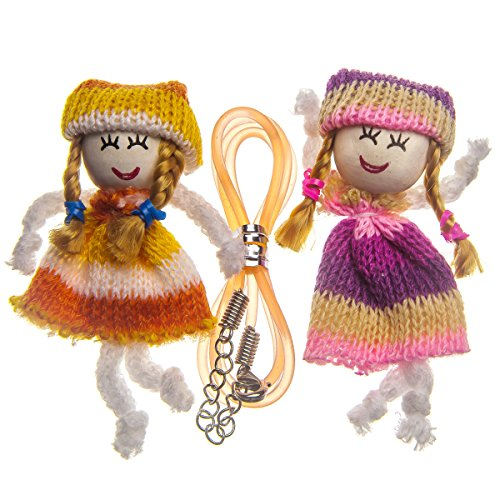 Capstyle Decoration Set Friends I - Handmade dolls Laura and Bella