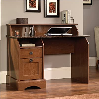 Sauder Graham Hill Desk, Autum Maple Finish