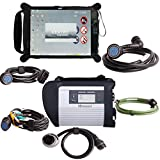 Two years warranty MB SD Connect Compact 4 Star Diagnosis Tool With WiFi 2015.03 Plus EVG7 Diagnostic Controller Tablet PC