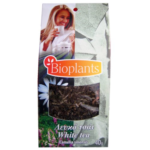 Bioplants Loose White Tea 40 g (Pack of 4)