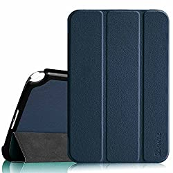 Fintie Samsung Galaxy Note 8.0 Case Cover - Ultra Slim Lightweight Stand Smart Shell with Auto Sleep/Wake Feature, Navy