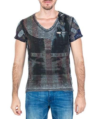 M.O.D T-Shirt Manica Corta SP15-TS694-1 [Grigio]