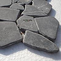 Marmor Bruch Mosaik Fliesen Schwarz Marq...