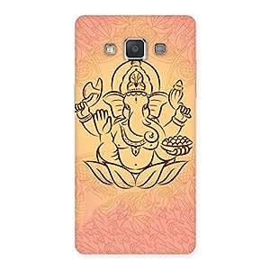 Impressive Jai Ganesha Print Back Case Cover for Galaxy Grand 3