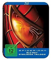 Spider-Man 1-3 (Steelbook) [Blu-ray] [Limited Edition]