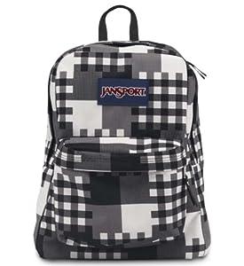 JanSport Superbreak® Backpack Black Cross Block One Size