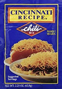 6 Pack Cincinnati Chili Mix Packets