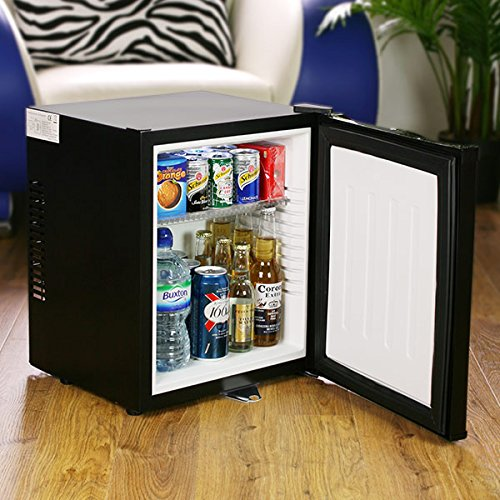 This ChillQuiet wine and beer fridge is whisper quiet, and looks just like a mini bar.