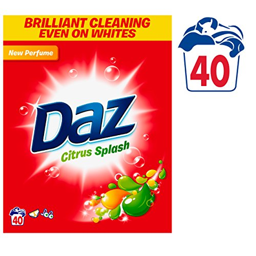 Daz Citrus Splash Washing Powder, 40 Washes