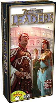 7 Wonders - Leaders Expansion (Version Anglaise)