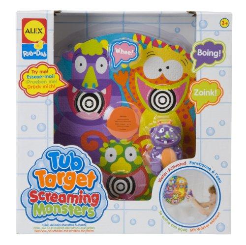 ALEX Toys Rub a Dub Tub Target Screaming Monsters - 1