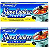 "Reynolds Metals 00504 Slow Cooker Liners 13""X21"" - 2 Pack"
