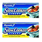 Reynolds Metals 00504 Slow Cooker Liners 13X21 - 2 Pack
