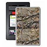 Hot Buckles Mossy Oak Camouflage Kindle Fire Case (White)
