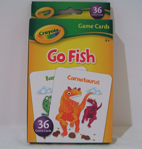 Crayola Go Fish Game Cards - 1