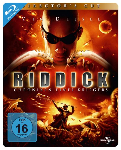 Riddick - Chroniken eines Kriegers - Steelbook [Blu-ray] [Director's Cut]