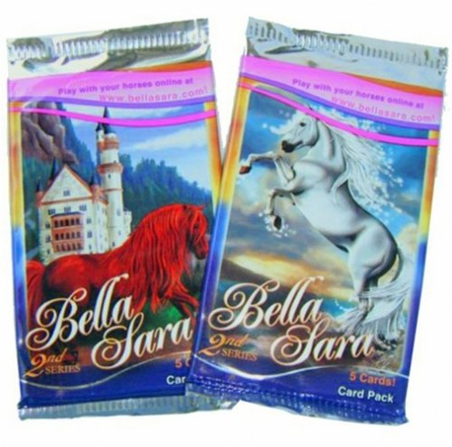 Bella Sara 2nd Series Trading Cards - 5 Horses (1 Activity)