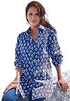 Roamans Womens Plus Size Kate Bigshirt