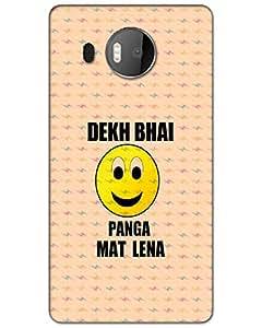 Microsoft Lumia 950 XL Back Cover Designer Hard Case Printed Cover