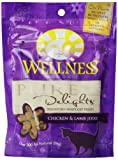 Wellness Treats for Cats, Pure Delights Chicken and Lamb Recipe, 3-Ounce Pouch