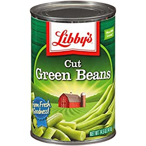 Libby's Cut Green Beans, 14.5-Ounce Cans (Pack of 12)