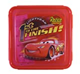 Disney Pixar First to the Finish Cars Food Storage - Cars Sandwich Box -