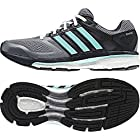 Adidas Supernova Glide 6 Women's Running Shoes - 8.5 - Grey