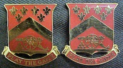 103rd Field Artillery Rhode Island Distinctive Unit Insignia - Pair