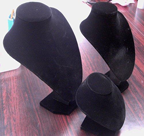 ネックレス トルソー アクセサリー スタンド ディスプレイ ジュエリー 展示 ネックレススタンド メンズ レディース (縦29cm×横21cm)