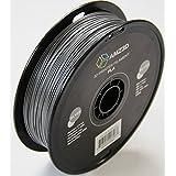 1.75mm Silver PLA 3D Printer Filament - 1kg Spool (2.2 lbs) - Dimensional Accuracy +/- 0.03mm