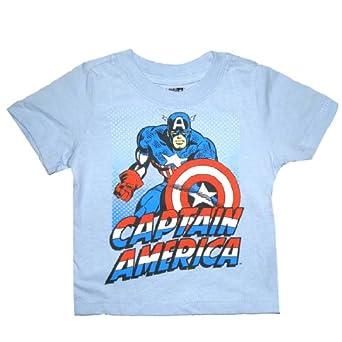 Marvel ics Infant Captain America Superhero T Shirt