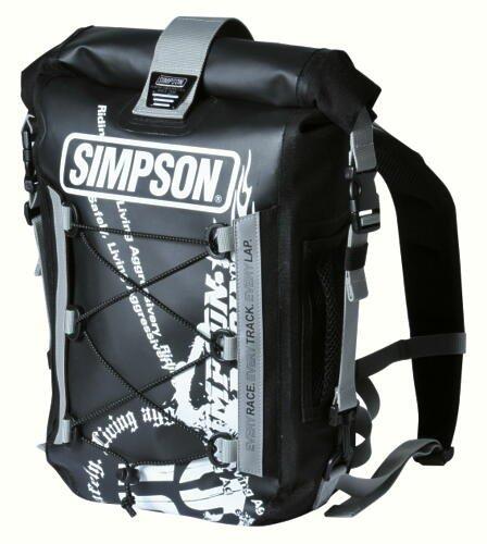 シンプソン(SIMPSON) 防水デイバッグ BK SB-211