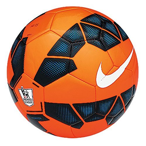 Nike Pitch pallone da calcio originale - Premier League 2014/2015 (Arancione)