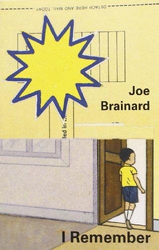 Joe Brainard: I Remember