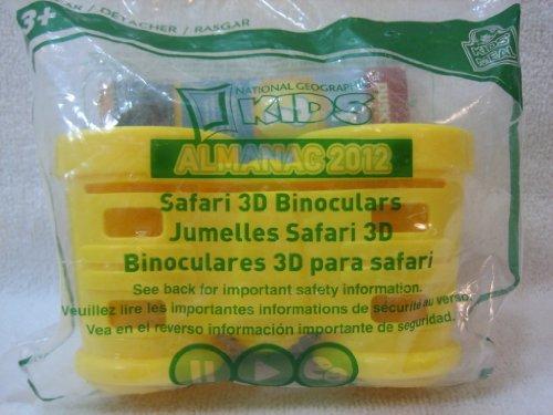 Wendy'S Safari 3D Binoculars - National Geographic Kids - Kids' Meal Toy 2012
