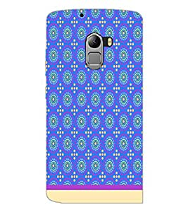PrintDhaba Pattern D-1168 Back Case Cover for LENOVO K4 NOTE A7010 (Multi-Coloured)