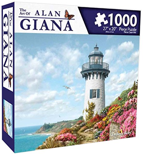 Karmin International Alan Giana Endless Skies Puzzle (1000-Piece)