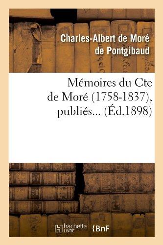 Mémoires du Cte de Moré (1758-1837) (Éd.1898)